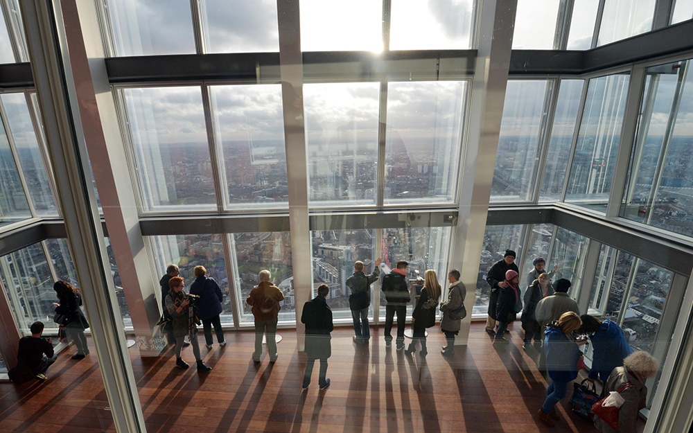 View from the Shard review